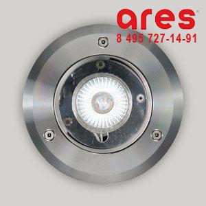 Ares 012856 CLIO INOX GZ10 50W D.130 ***TRANSPARENT GLASS***