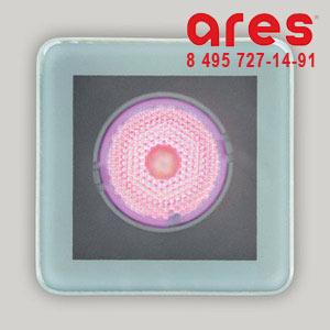Ares 100174125 TAPIOCA QUADRO 3W 350mA RGB SOLO VETRO SABBIATO