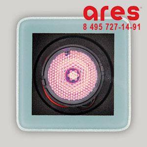 Ares 10017441 TAPIOCA QUADRO 3W RBG 350mA SOLO VETRO