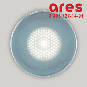 Ares 100175118 TAPIOCA D.40 2W LED BI. FREDDO SOLO VETRO SABBIATO