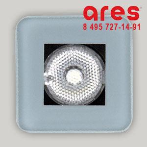 Ares 10017741 TAPIOCA QUADRO 2WLED BI.NATURA SOLO VETRO