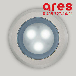 Ares 10073121 TAPIOCA D.90 3x1W LED BI. FRED C/ANELLO VS