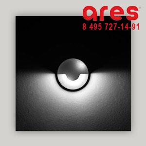 Ares 517061 RHO CW 2W 24V CALOT 180°INOX PARETE