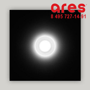 Ares 517133 RHO WW 2W 24V DIFF TONDO PLAFONE/CART