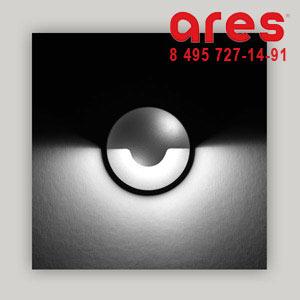 Ares 518082 SIGMA NW 1x3W 24V C/INOX 180° PARETE