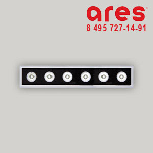 Ares 524122 K12ln 40° 6x2W NW 24V