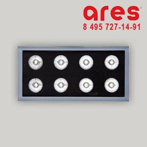 Ares 524511 K12rc 10° CW 8x2W 24Vdc