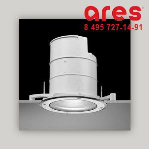 Ares 590113 STELLA DOWNLIGHT E27 1X100W INC. DIAM.220 INOX