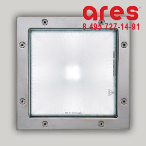 Ares 676157 MAXI BEA G24q3 1x26W INOX SIM. VETRO SABBIATO
