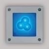 Светильник Manuel Led /Лампа 3 BLUE LED 3x1W/24V