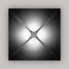 Светильник Marco Led /Лампа 4 BLUE LED 4x1W/100-240V